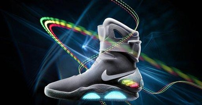"""Nike releases famed """"Back to the Future"""" shoe"""