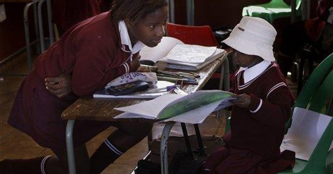 South Africa: First black child with aging disease