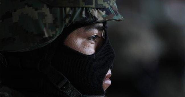 Mexican navy dismantles Zeta communication system