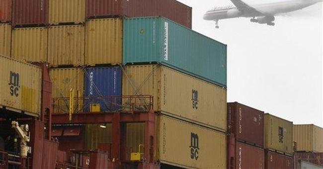 Trade deficit narrowed to $44.8 billion in July