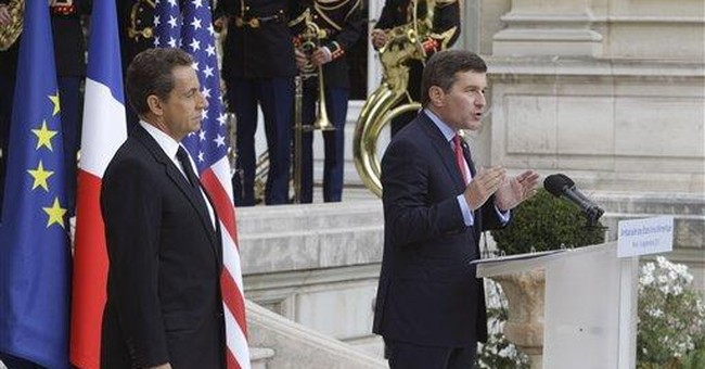 Sarkozy keeps Twin Towers memento from 9/11