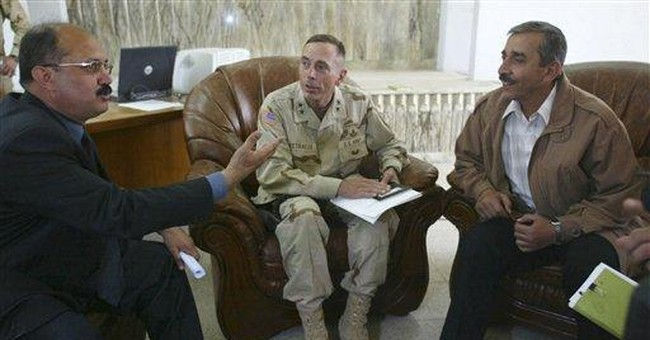 An Iraqi exile gives outlet to Gadhafi's voice