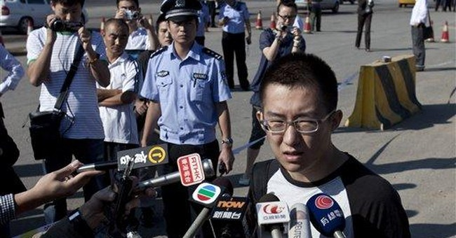 Chinese activist gets 9 months for protesting