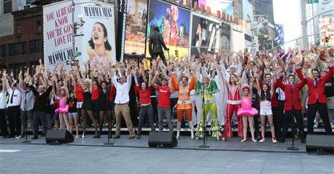 Broadway marks 9/11 anniversary with iconic song