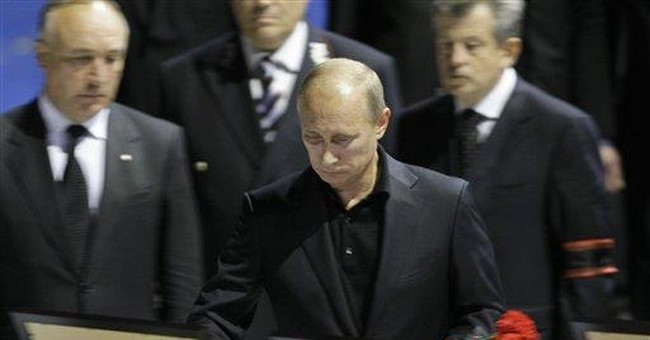 Heartbreak in Russia as thousands mourn victims