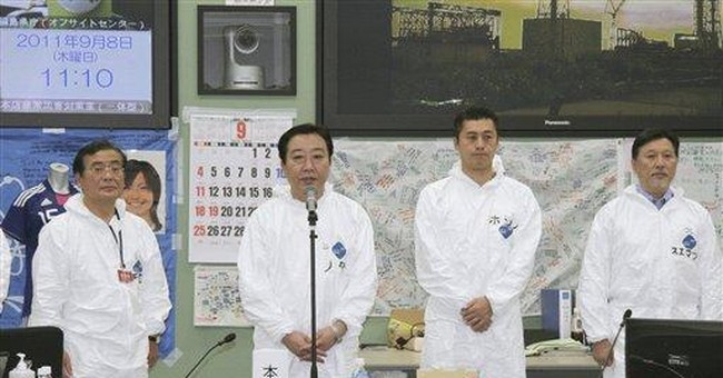 Japanese minister leaves over nuclear crisis gaffe
