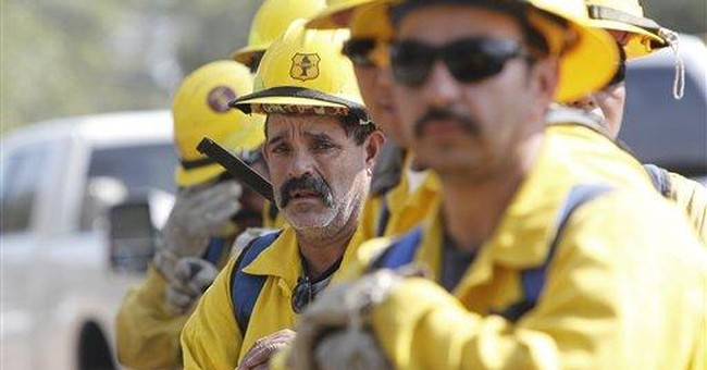 String of blazes takes toll on Texas firefighters