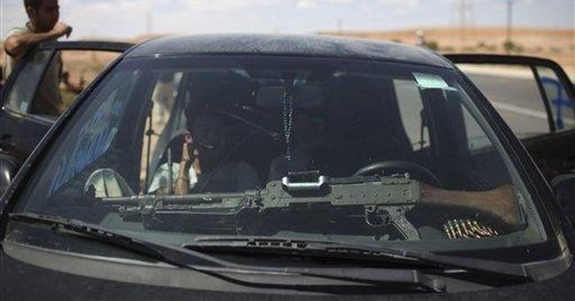 Chief of Libya's ex-rebels arrives in capital
