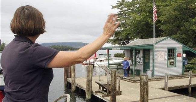 Anne Nix makes NH's floating postal office run