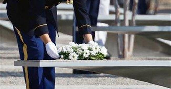 Memories of Sept. 11 echo at rebuilt Pentagon