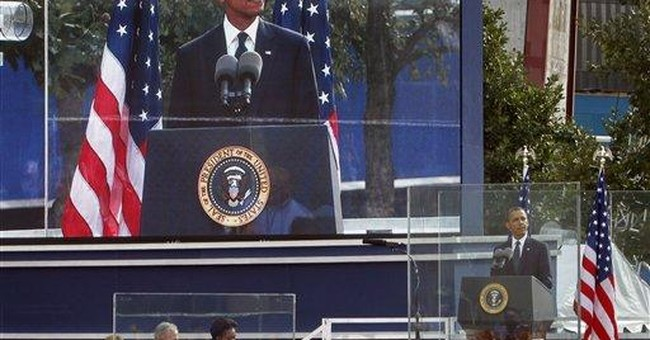 Obama's remarks at Sept. 11 observance in NY