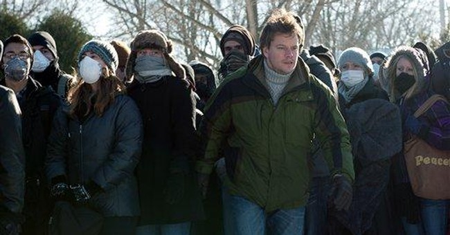 'Contagion' cleans up box office with first place