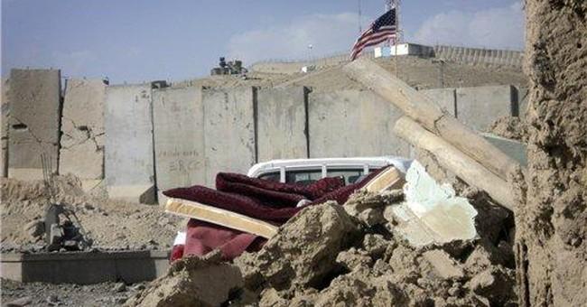 Bomb at US base reminder of raging Afghan war