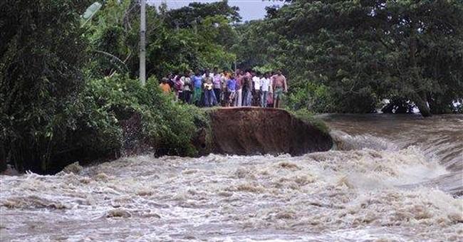 Monsoon flooding kills 16 in eastern India