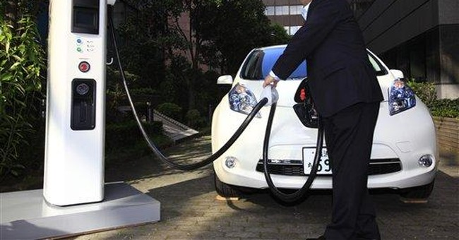 Nissan develops cheaper, smaller charger for EVs