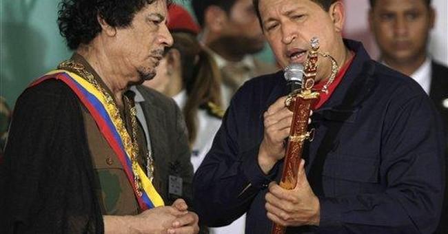 Venezuela's Chavez sees cautionary tale in Libya