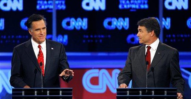 Romney: Perry is a poker player dealt 4 aces