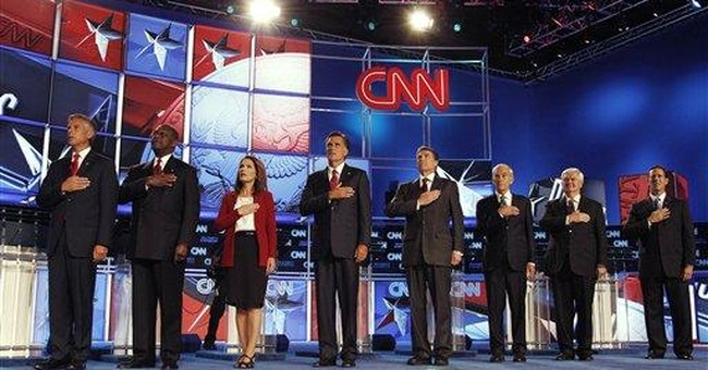 GOP candidates spar on Social Security in debate