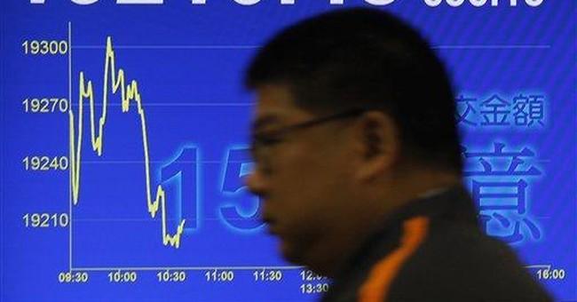 World stocks tumble amid Europe debt worries