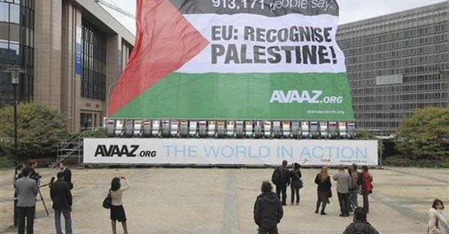 AP Interview: Israel lobbying against Palestinians