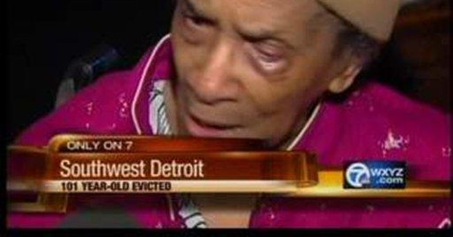 101-year-old Detroit woman evicted in foreclosure