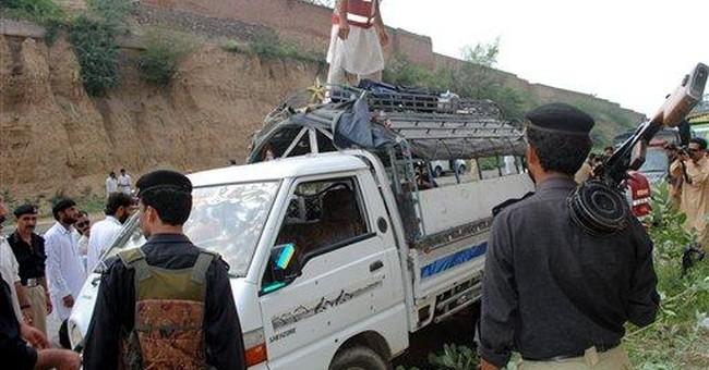 Gunmen attack school van in Pakistan; 5 dead
