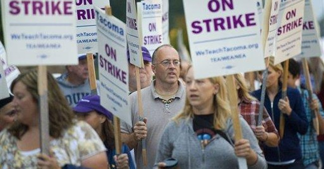 District wants Wash. teachers ordered back to work