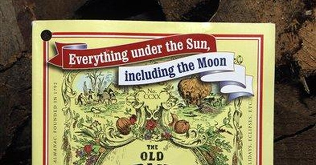 Old Farmer's Almanac: Back to basics is in