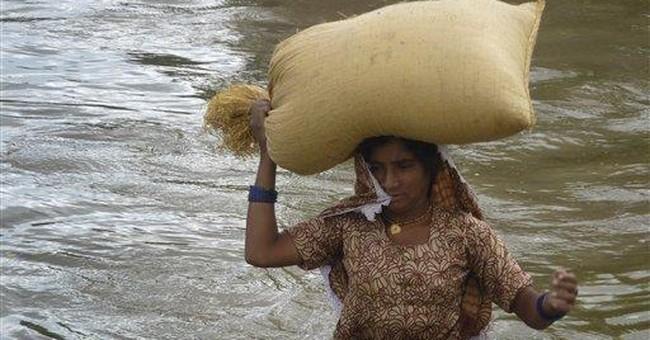 Rain compounding misery for Pakistan flood victims