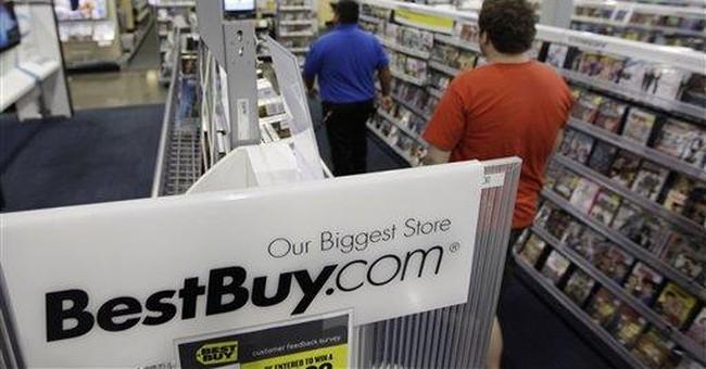 Best Buy 2Q profit falls, misses view, shares drop