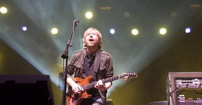 Phish show raises more than $1.2M for Vt. recovery