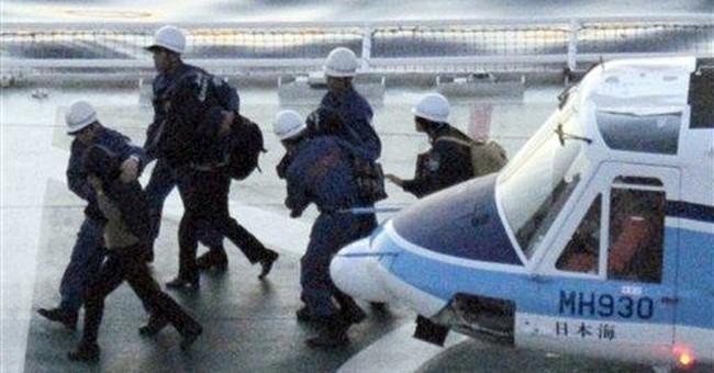 Japan grants NKorea defectors temporary refuge
