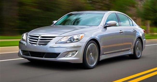 Hyundai adds biggest V-8