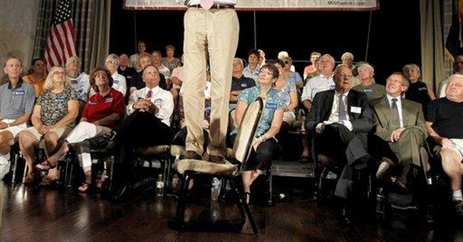 Bachmann courts AZ's tough anti-immigrant sheriff