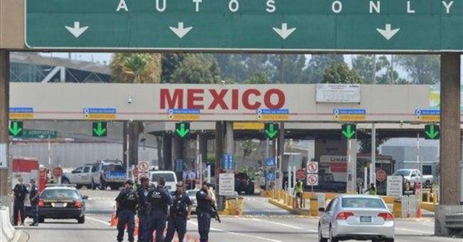 California border crossing shutdown snarls traffic