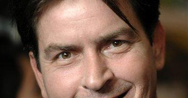 Charlie Sheen quiets down some after manic spring