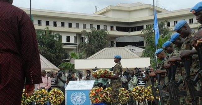 UN honors guards, others killed in Nigeria bombing