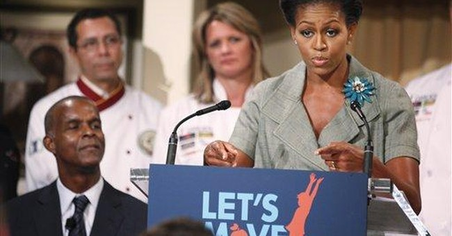 First lady makes headway calling for healthy foods
