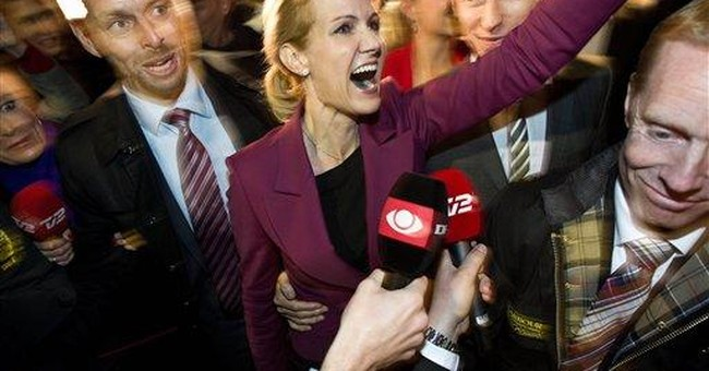 Denmark's 'red bloc' topples government