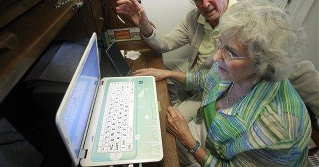 Grandparents with webcam become new online stars