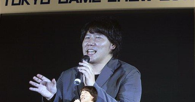 Tokyo game show turns to cell phones, has new star