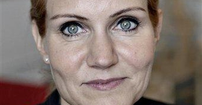 1st Danish woman PM 'Gucci Helle' faces challenge