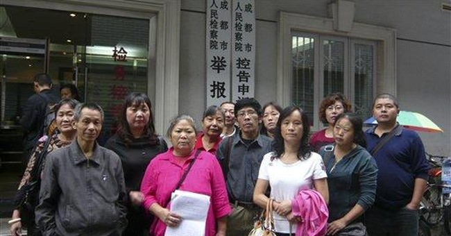 Chinese petitioners detained during Biden's visit