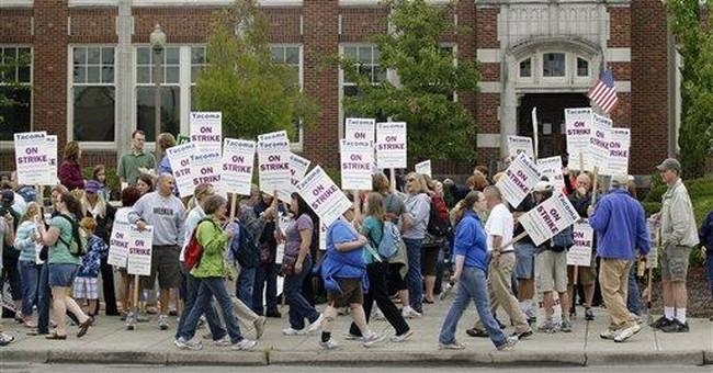 Wash. teachers maintain strike despite judge order