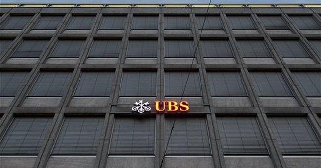 Rogue trader suspected in $2 billion loss at UBS
