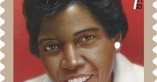 Stamp honors political trailblazer Barbara Jordan