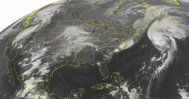 Hurricane warning issued for coast of Newfoundland