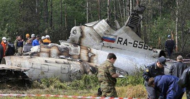 Kremlin struggles to respond to plane crashes