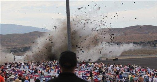 2 air show crashes, 2 very different outcomes