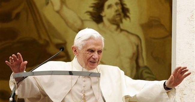 Pope: German trip can boost hope